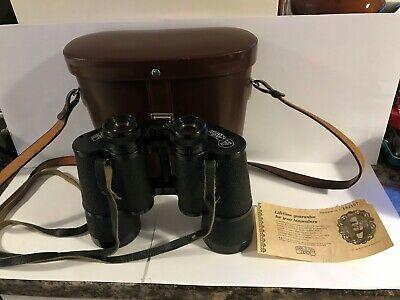 Carl Zeiss Jena Dekarem 10x50 LF 7.3* mc Binoculars Case & 2 Strap Excellent Con