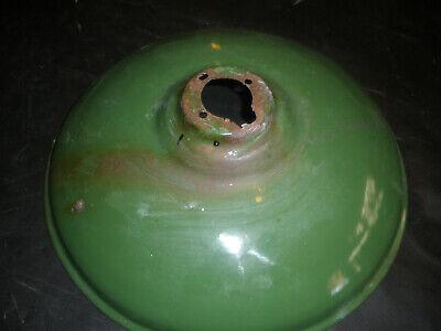 VINTAGE GREEN  PORCELAIN GAS STATION / BARN / INDUSTRIAL NO.7