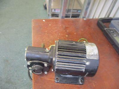 Bodine Gear Motor 42r4bfsi-5l 18hp 85rpm 115v 3.0a Used
