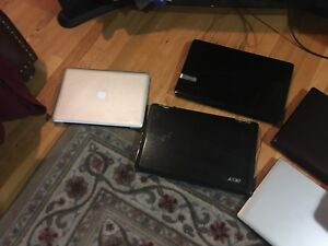 Used laptops + used desktops to sell - for parts