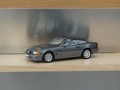 NOREV 183715 - Mercedes Benz 500 SL 1989 Anthracite metallic R129 1/18 Mercedes Benz 500sl