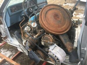 Mid 1970s Oldsmobile 350 v8 engine and TH 350 transmission