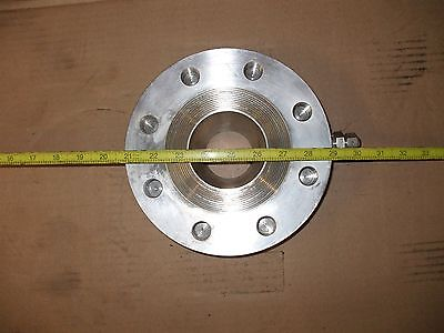 316 Stainless Steel2 In Thick2 In I.d. Flange