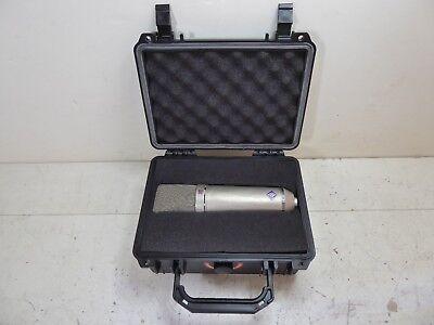 NEUMANN U87 VINTAGE PROFESSIONAL STUDIO CONDENSER MICROPHONE WITH CASE LQQK #2, used for sale  Reseda