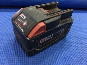MILWAUKEE M28 3.0Ah Red Lithium-Ion Battery Brunswick East Moreland Area Preview