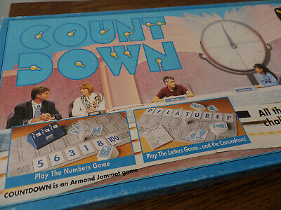 Vintage Countdown Board Game 1993 - Spear's Games