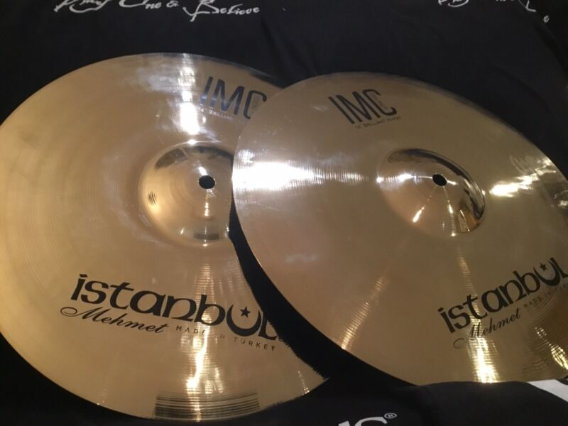"NEW 14"" Istanbul Mehmet IMC Brilliant Hi Hat Cymbals - New Series For 2021"