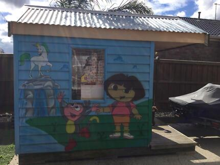 Cubby house kids outdoor
