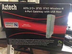 Aztech Wireless N Router New