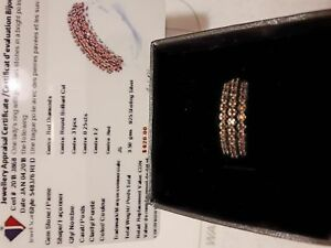 Red Rare Diamond Ring For Sale 275