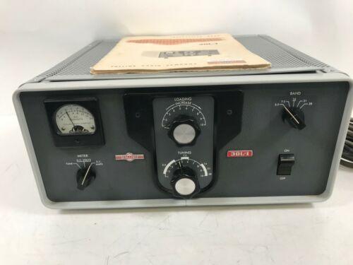 Collins Ham Radio Linear Amplifier 30L-1 W/ Manual