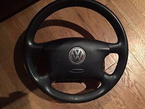 Volant volkswagen golf cabrio jetta passat mk3 mk4 airbag