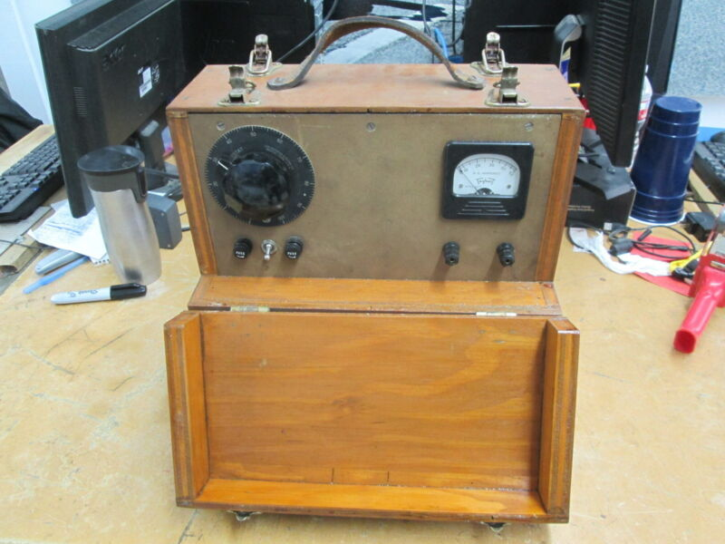 Vintage Antique Variable AC Power Supply Variac Isolation Triplet
