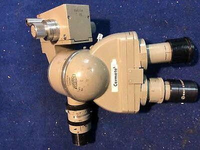Olympus Vintage Microscope Head Plus Extras 240532 211499