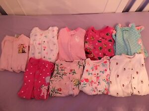 Baby sleepers size 0-3, excellent condition!
