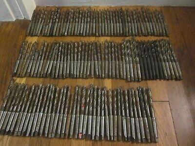 132 Morse Taper Mt1 Hss Drill Tool Set Lot Machinist Lathe Mill Cnc Many Nos
