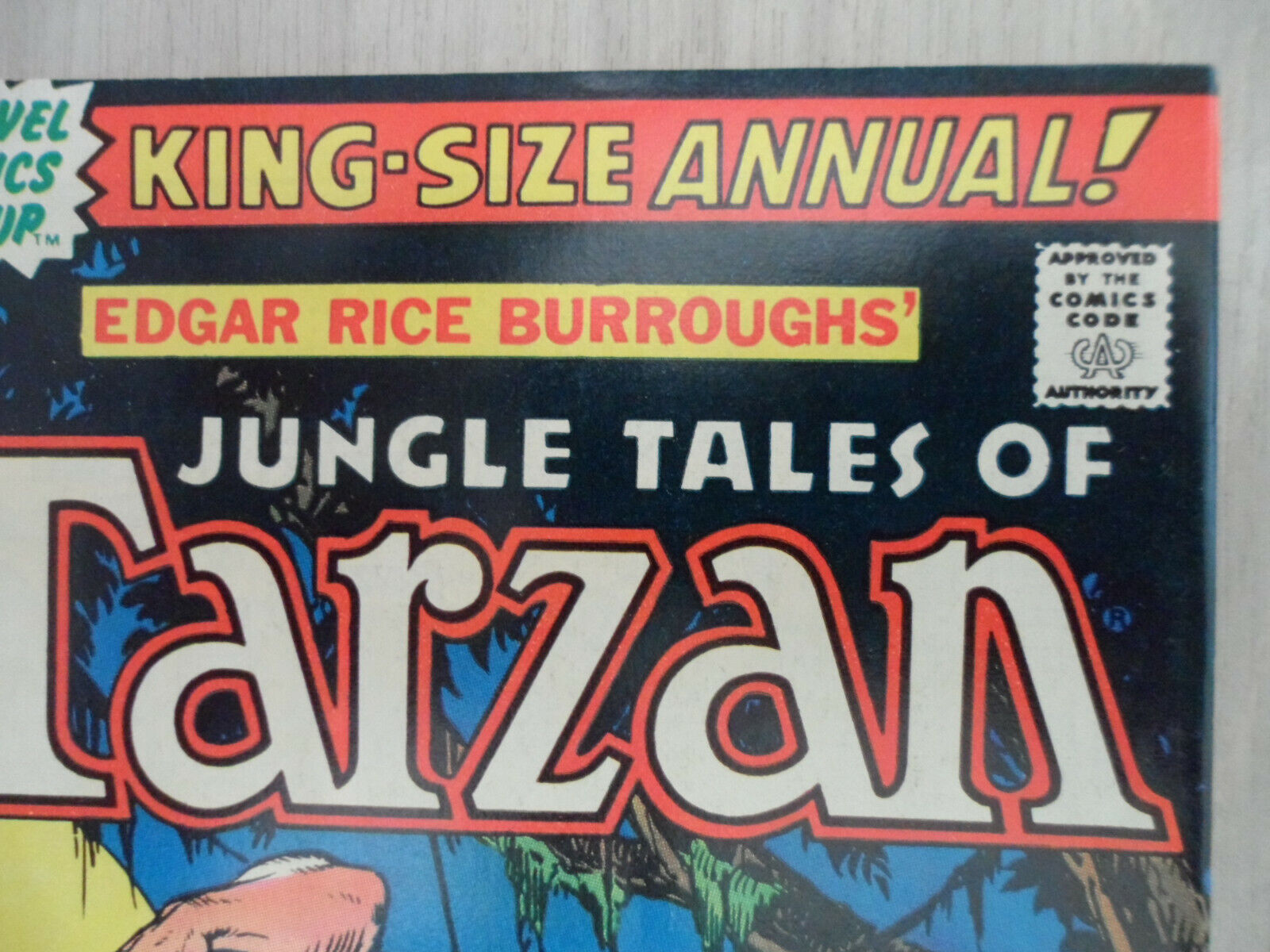 Tarzan ANNUAL 1 MARVEL COMICS. 1977 KING-SIZE ANNUAL  - $24.99