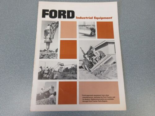Ford Industrial Equipment Brochure                  lw