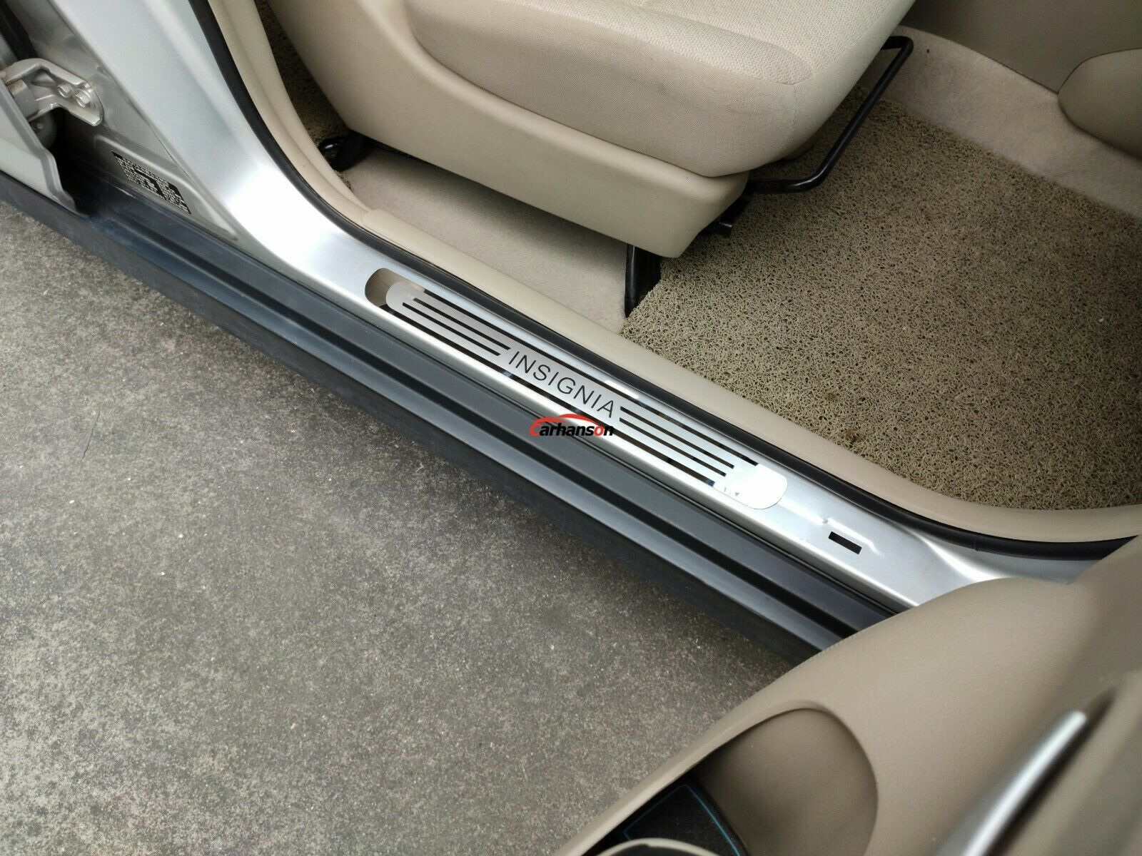 Car Parts - For Auto Accessories Opel Vauxhall Insignia Car Door Sill Protector Scuff Plate