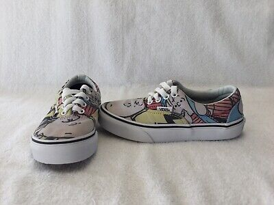 Vans Off The Wall Boys/girls Peanuts Charlie Brown And Friends Shoes~size 13 C