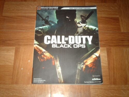 BRADYGAMES...CALL OF DUTY BLACK OPS...sur PS3 / XBOX 360 / PC