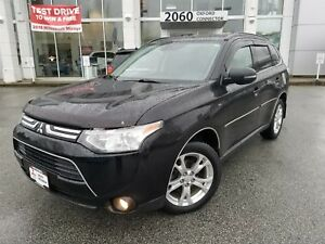 2014 Mitsubishi Outlander OUTLANDER GT S-AWC, LEATHER SUNROOF, 7