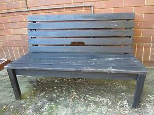 outdoor 2 seater wood bench Northbridge Willoughby Area Preview