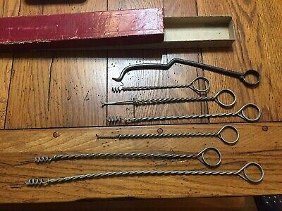 Set Of 6 A.w. Chesterton Flexible Packing Tool Set Tools Everett Mass