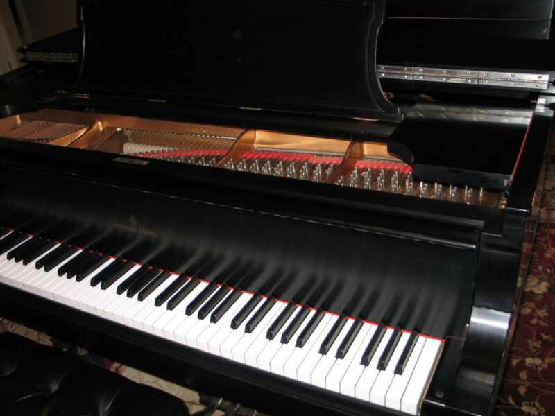 "Steinway Model B Grand Piano ""VIDEO"" complete restoration rebuilt"