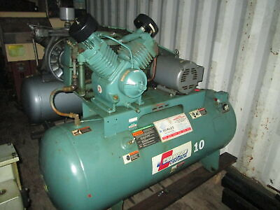 Champion Hrv10-12 10 Hp Two Stage 230460v 3ph Reciprocating Air Compressor