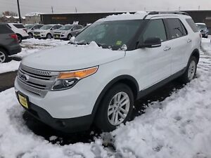2015 Ford Explorer XLT, Navigation, Leather, 3rd Row Seating