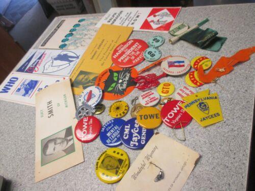 jaycee pins lot jci papers 1960