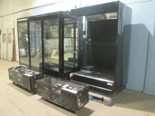 """""""BARKER"""" HD COMMERCIAL REFRIGERATED LIGHTED 145½""""W FLORAL DISPLAY MERCHANDISER"""