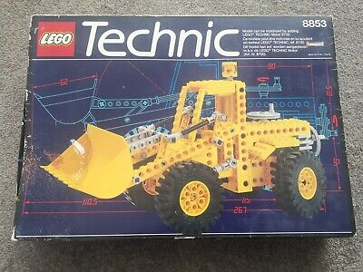 LEGO Technic 8853 Excavator Complete With Instructions & Box