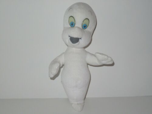 "Casper The Friendly Ghost Nite Glow In The Dark Eyes Plush Vintage 1994 15"" Tyco"
