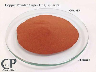 Copper Powder Super Fine Spherical 1 Lb. Cu112sp