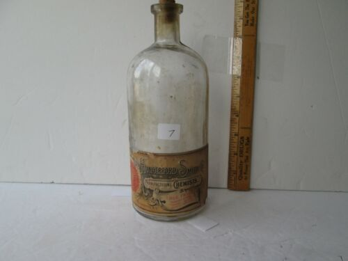 Antique Labeled Rochester New York Bottle