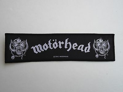 MOTORHEAD WAR PIGS WOVEN PATCH