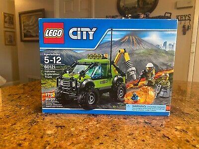 LEGO City 60121 Volcano Exploration Truck BRAND NEW Sealed Box