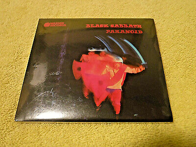 NEW/SEALED CD BLACK SABBATH: PARANOID 1971/'16 SLIP CARD CASE! WAR PIGS, 8 SONGS