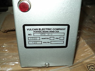 Vulcan Wtp910a Immersion Heater 14-18 In. L