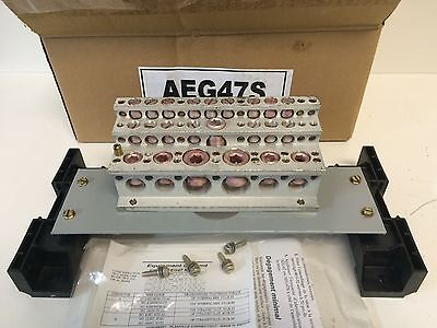 NEW OLD STOCK GE GENERAL ELECTRIC SPECTRA SERIES PANELBOARD GROUND AEG47S
