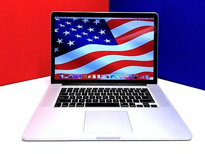 "MINT Apple Macbook Pro 15"" Retina Laptop OSX-2016 / 512GB+ / Three Year Warranty"