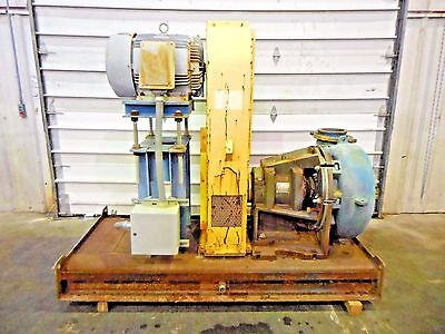 Rx-3602 Metso Mm250 Fhc-d C5 10 X 8 Slurry Pump W 40hp Motor And Frame