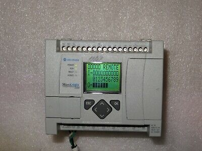 Allen Bradley Micrologix 1100 1763-l16awab Frn 5 Wenet Very Nice Tested