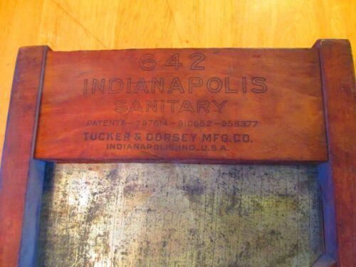 ANTIQUE Indianapolis #642 Sanitary Cabbage Shredder