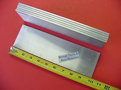 5 Pieces 316 X 3 Aluminum 6061 Flat Bar 10 Long T6511 Mill Stock .187 Plate