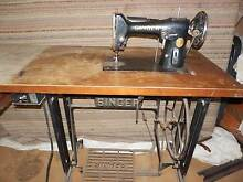 Industrial Treadle Singer Sewing Machine Macleay Island Redland Area Preview