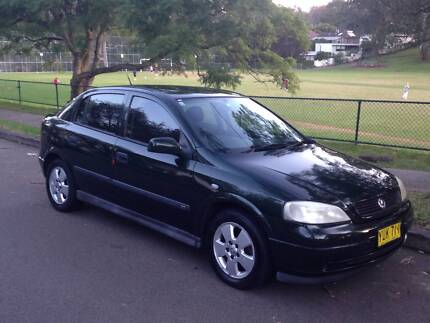 2002 Holden Astra Hatchback Lane Cove Lane Cove Area Preview