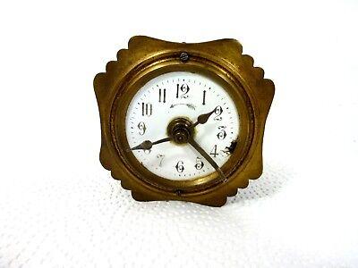 Uralte Uhr Eisenbahnerwecker um 1880 Pendelwecker! selten!  Pendel Wecker